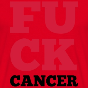 F*ck Cancer  Sweat-shirts - T-shirt Homme
