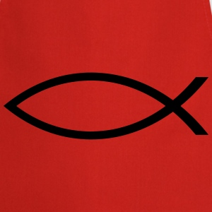 Jesus / Christian Fish T-shirts - Keukenschort