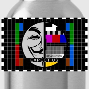 expect us T-Shirts - Trinkflasche