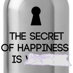Secret of Happiness - Trinkflasche