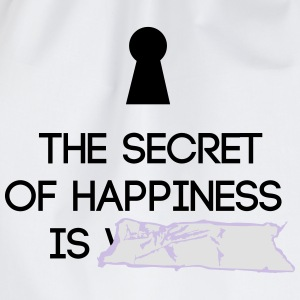 Secret of Happiness - Turnbeutel