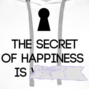 Secret of Happiness - Männer Premium Hoodie