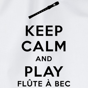 Mug Keep calm and play flûte à bec - Sac de sport léger