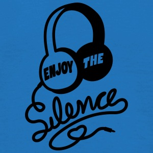 enjoy the silence - headphones music Umbrellas - Men's T-Shirt