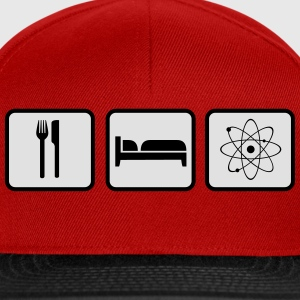 Eat Sleep Science Felpe - Snapback Cap