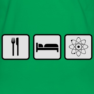 Eat Sleep Science Tasker & rygsække - Herre kontrast-T-shirt