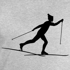 Cross country skiers Cross country T-Shirts - Men's Sweatshirt by Stanley & Stella