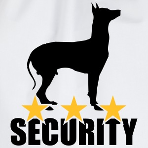 Security dog T-shirts - Sportstaske