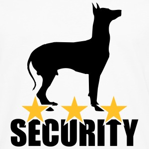 Security dog T-shirts - Långärmad premium-T-shirt herr