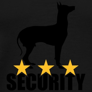 Security dog Flaskor & muggar - Premium-T-shirt herr