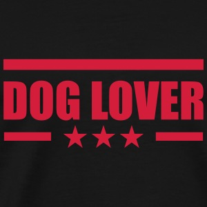 Dog Lover Pullover & Hoodies - Männer Premium T-Shirt