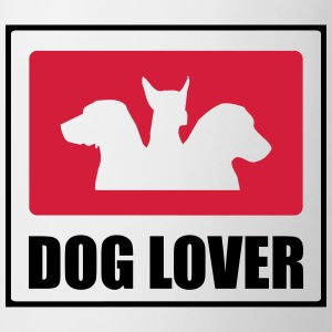 Dog Lover T-shirts - Kop/krus