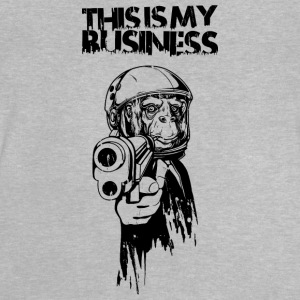 Monkey with gun and business suit T-shirts - Baby-T-shirt