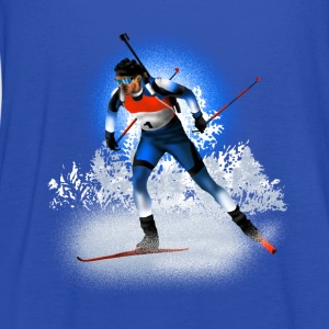 biathlon Shirts - Women's Tank Top by Bella