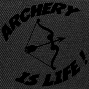 Archery is life ! T-shirts - Snapback Cap