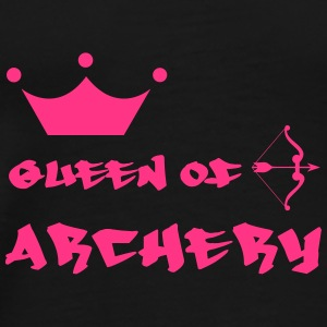 Queen of Archery  Flasker & krus - Herre premium T-shirt