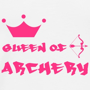 Queen of Archery  Kepsar & mössor - Premium-T-shirt herr
