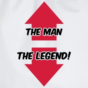 The Man, The Legend T-shirts - Gymtas