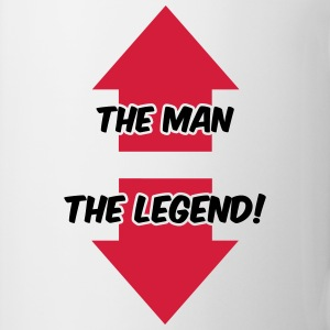 The Man, The Legend T-shirts - Mugg