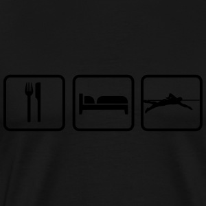 Eat Sleep Swim, Eat Sleep Swimming Débardeurs - T-shirt Premium Homme