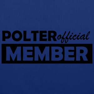 polter member official T-Shirts - Stoffbeutel