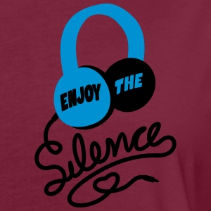 enjoy the silence - headphones music - Frauen Oversize T-Shirt