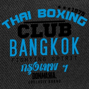 Thai Boxing Club Pullover & Hoodies - Snapback Cap