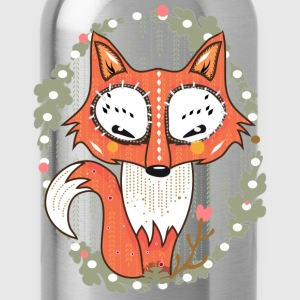 a small fox in the forest  T-Shirts - Water Bottle
