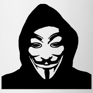 ANONYMOUS T-Shirts - Tasse