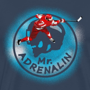 hockey Mr. Adrenalin Manga larga - Camiseta premium hombre