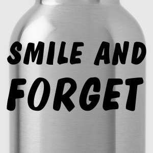 smile and forget Shirts met lange mouwen - Drinkfles
