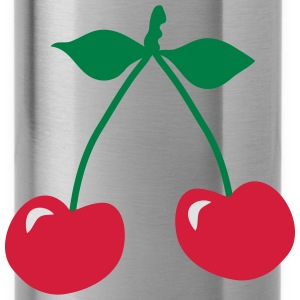 cherry rockabilly symbol_patjila T-Shirts - Water Bottle