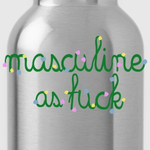 MASCULINE AS FUCK - Trinkflasche