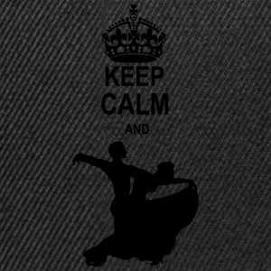 Keep Calm and Ballroom Dance T-Shirts - Snapback Cap