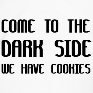 Come To The Dark Side We Have Cookies Bottles & Mugs - Men's Premium T-Shirt