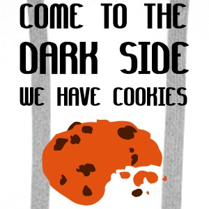 Come To The Dark Side We Have Cookies Peluches - Sudadera con capucha premium para hombre