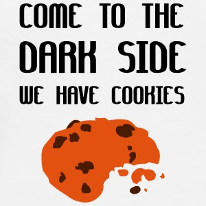 Come To The Dark Side We Have Cookies Bamser - Premium-T-shirt herr