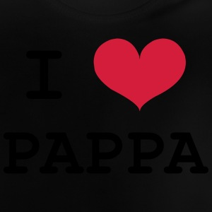 I Love Pappa T-shirts - Baby-T-shirt