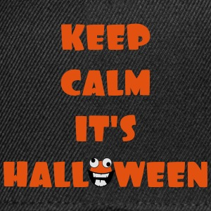 Keep Calm it' halloween Tee shirts - Casquette snapback