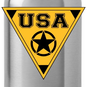 usa star T-Shirts - Water Bottle