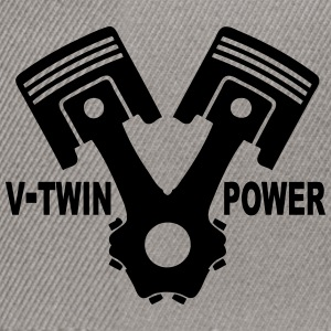 v-twin power vector design 02 Sweat-shirts - Casquette snapback