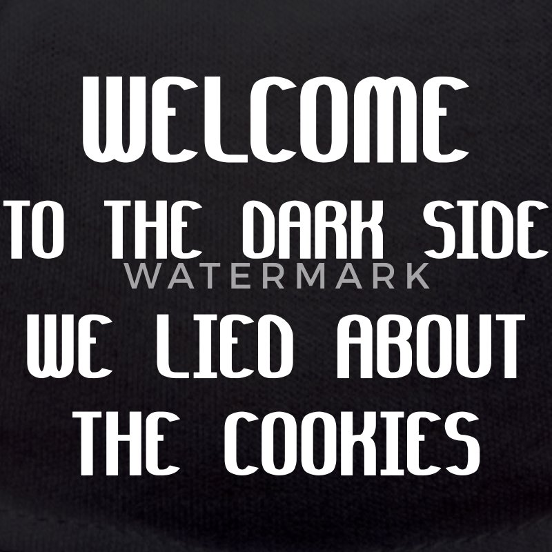 Welcome To The Dark Side We Lied About The Cookies Peluches - Osito de peluche