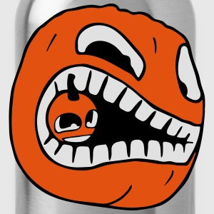 Pumpkin eats Pumpkin - Halloween T-Shirts - Water Bottle