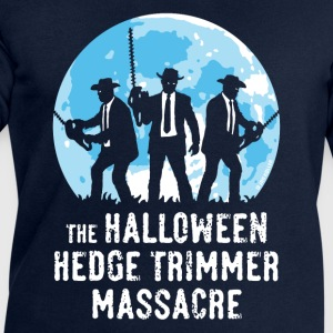 Bleu marine The Halloween Hedge Trimmer Massacre Tee shirts - Sweat-shirt Homme Stanley & Stella