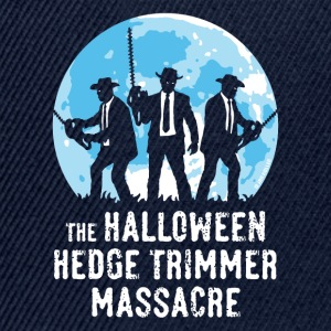Marine The Halloween Hedge Trimmer Massacre T-skjorter - Snapback-caps