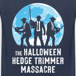 Marine The Halloween Hedge Trimmer Massacre T-skjorter - Premium singlet for menn