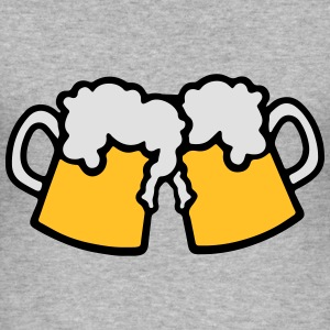 Beer Hoodies & Sweatshirts - Men's Slim Fit T-Shirt