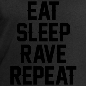 Eat sleep rave repeat T-skjorter - Sweatshirts for menn fra Stanley & Stella
