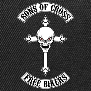 sons of cross - free bikers Hoodies & Sweatshirts - Snapback Cap