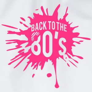 Back to the 80s Design T-Shirts - Turnbeutel